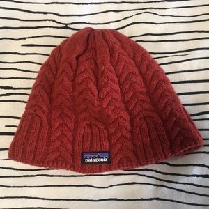 Winter fleece lined Patagonia knit hat